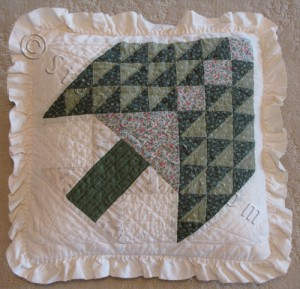 02 - Pieced and Quilted using German fabrics - 1982 - Mainz, FRG-WM