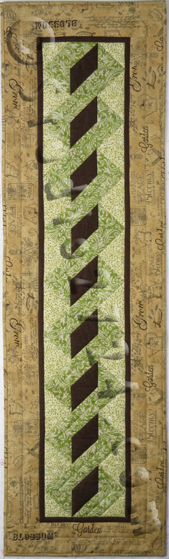 Bobbles Table Runner (12.5u2033 X 40.5u2033) Quilted By Sue Hickman Berryville, Va  9/2015