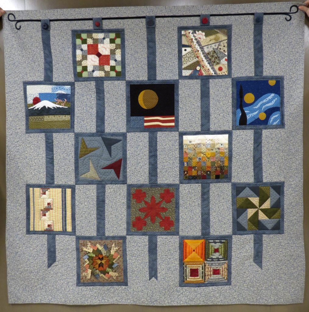 Sue Hickman Finished Quilt